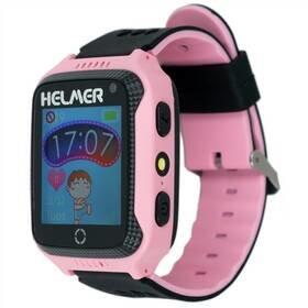 Růžové dětské chytré hodinky LK 707, Helmer