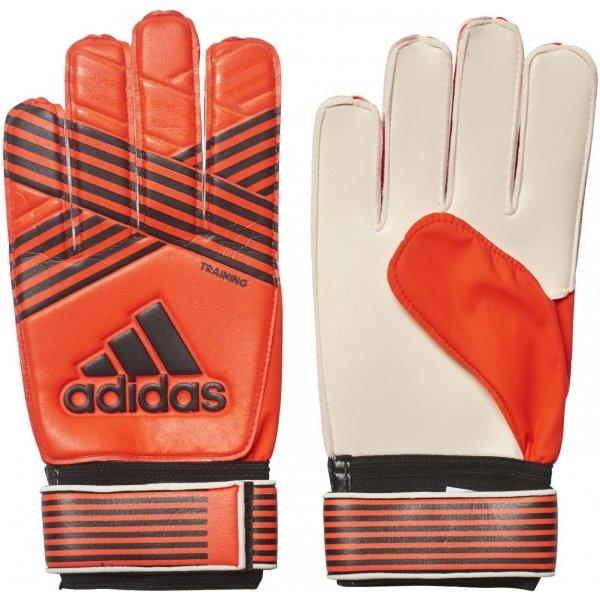 Oranžové pánské brankářské fotbalové rukavice Adidas