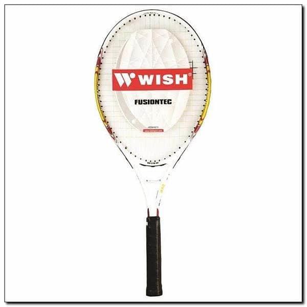 Žlutá tenisová raketa Wish - délka 68,6 cm