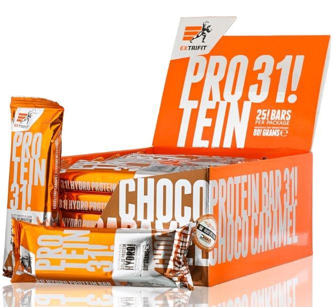 """Proteinová tyčinka Extrifit """"čokoláda"""" - 80 g"""