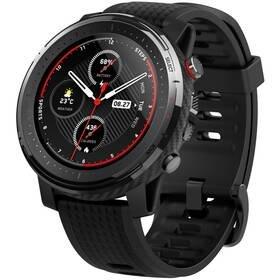 Černé chytré hodinky Amazfit Stratos 3, Xiaomi