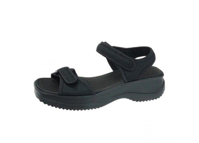 Černé sandály AZALEIA