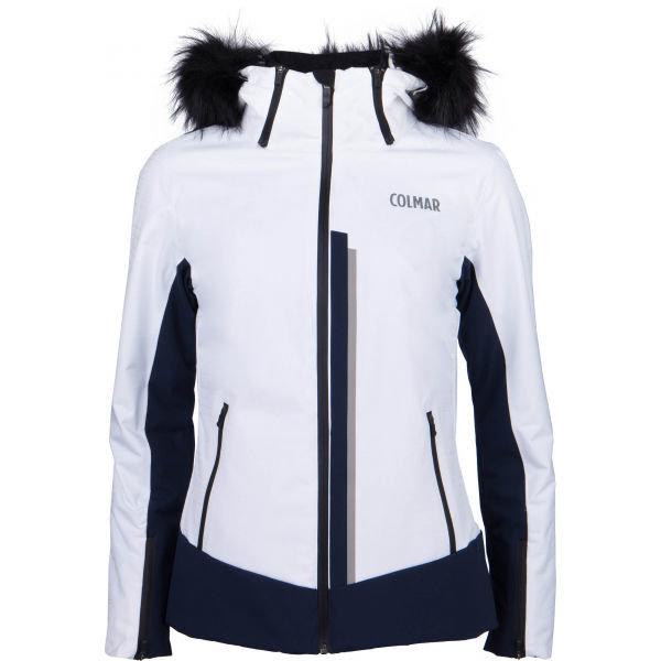 Bílá dámská lyžařská bunda Colmar - velikost 36