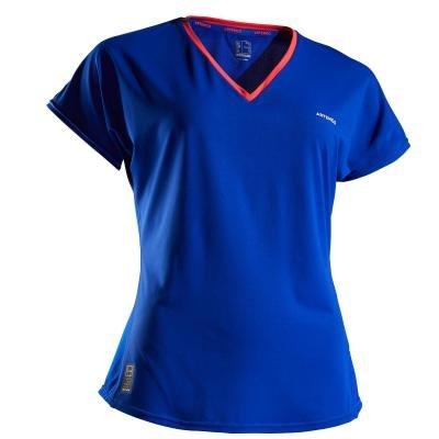 Modré dámské tenisové tričko Artengo