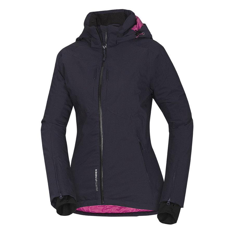 Modrá dámská lyžařská bunda NORTHFINDER - velikost S