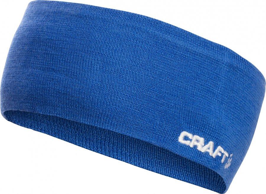 Modrá běžecká čelenka Race, Craft - velikost L-XL