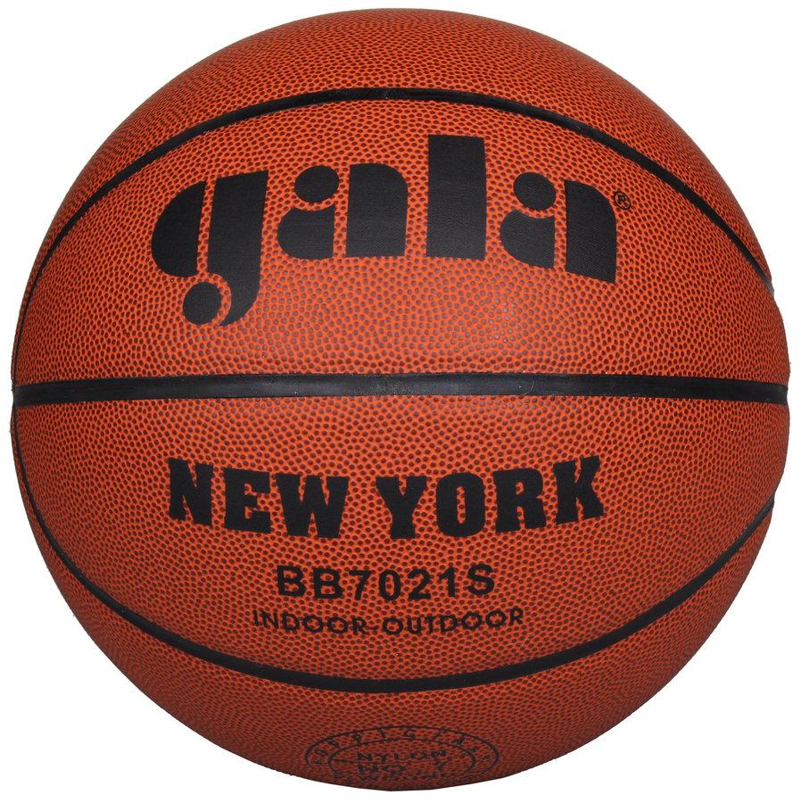 Hnědý basketbalový míč New York, Gala - velikost 7