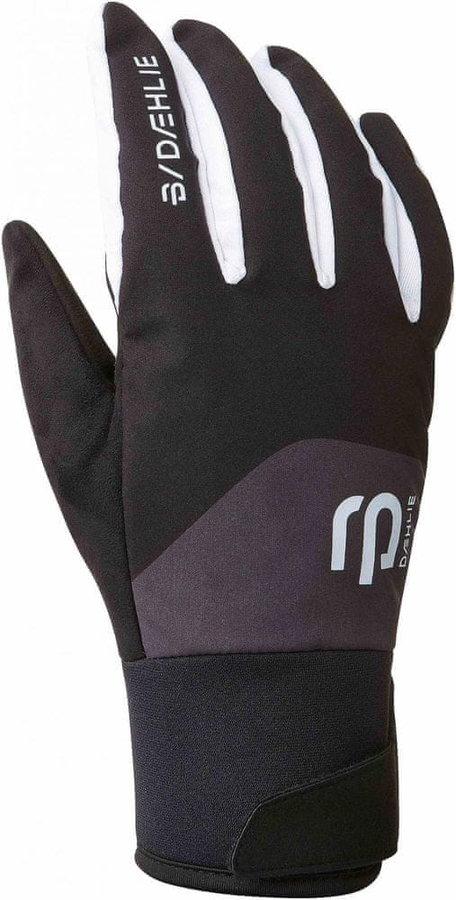 Černé rukavice na běžky Bjorn Daehlie