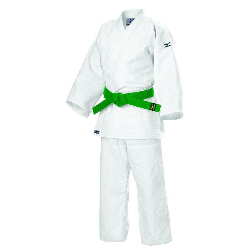 Bílé kimono na judo Mizuno