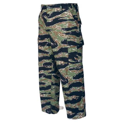 Kalhoty - Kalhoty BDU rip-stop TIGER STRIPE GREEN