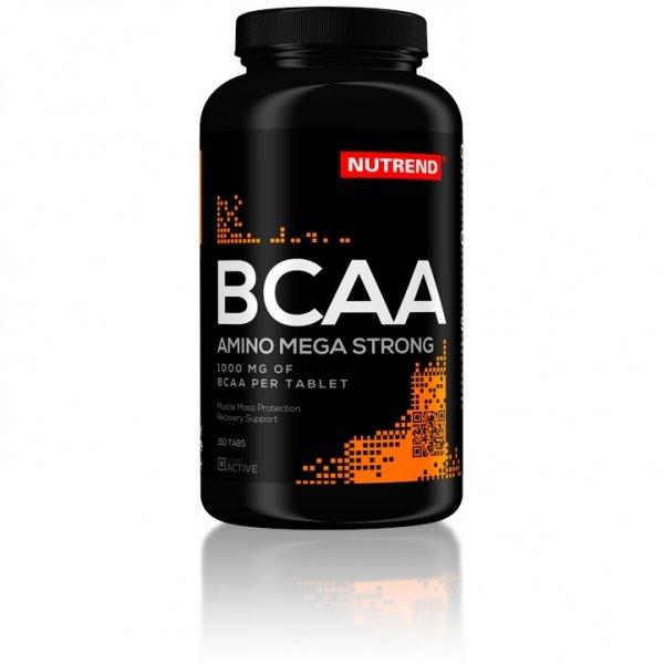 BCAA - BCAA Mega Strong-Nutrend Bez príchute 150 tbl.
