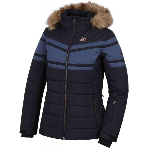 Černo-modrá dámská lyžařská bunda Hannah