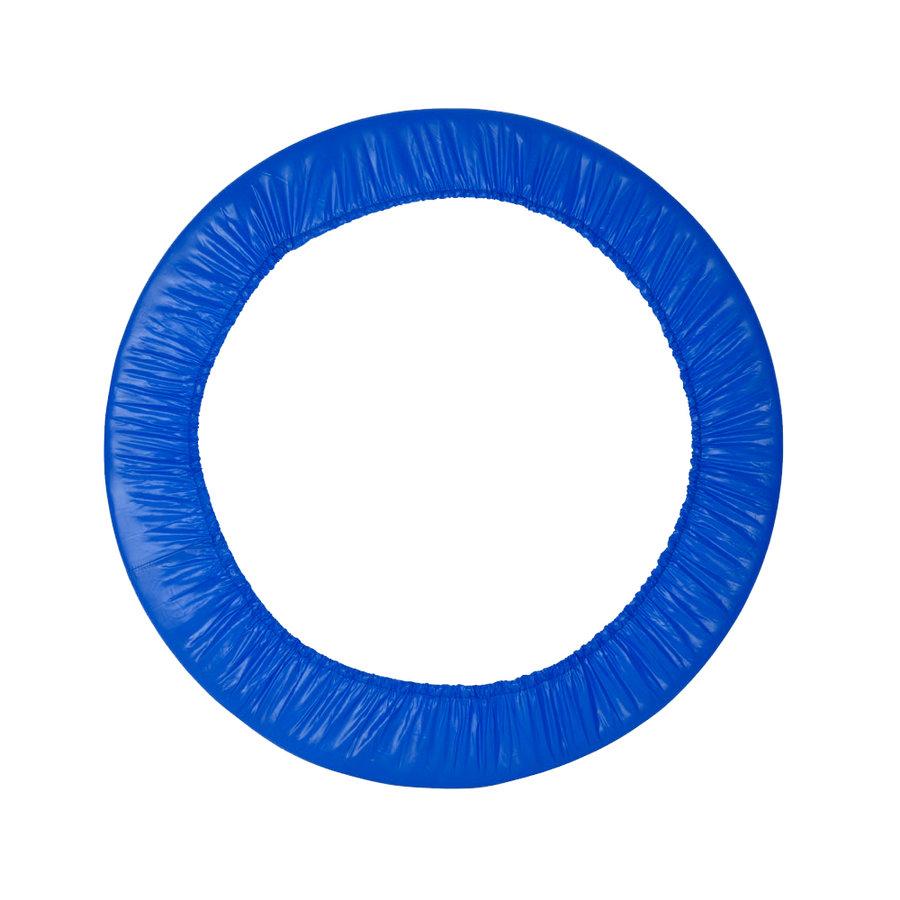 Modrý kryt pružin na trampolínu inSPORTline - průměr 140 cm a šířka 14 cm