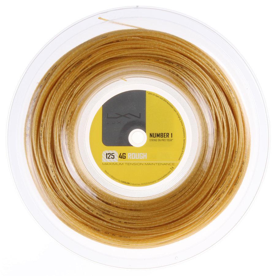 Tenisový výplet 4G Rough, Luxilon - průměr 1,25 mm a délka 200 m