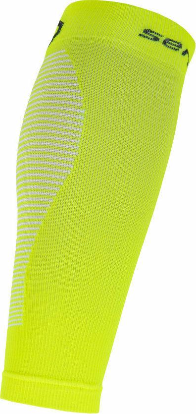Žluté cyklistické návleky na nohy Sensor