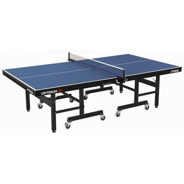 Modrý vnitřní stůl na stolní tenis Optimum 30 CSS, Stiga