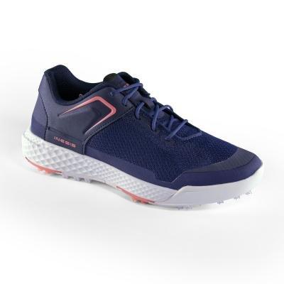 Modré dámské golfové boty Grip Dry, Inesis