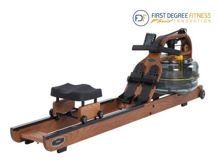 Veslovací trenažér Viking 3, First Degree - nosnost 150 kg