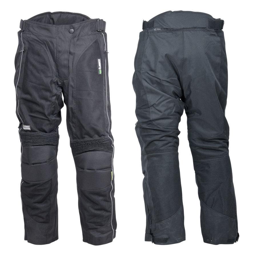 Černé dámské motorkářské kalhoty Goni, W-TEC