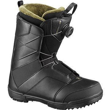 Černé boty na snowboard Salomon - velikost 42 EU