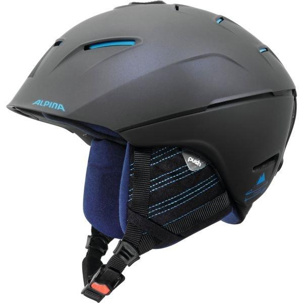 Černá pánská lyžařská helma Alpina
