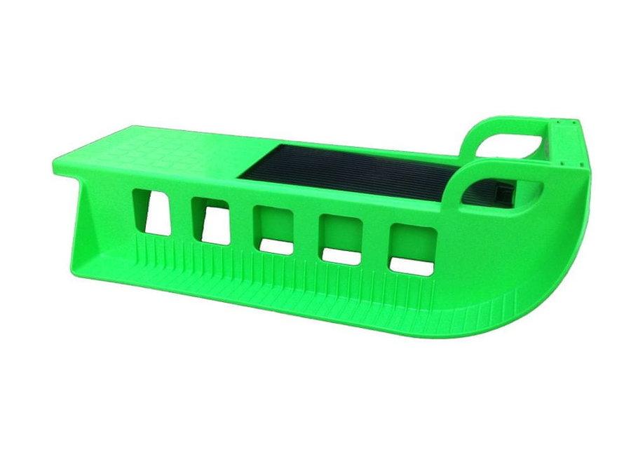 Zelené plastové sáňky JAKU