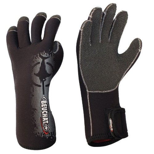 Černé neoprenové rukavice Premium, Beuchat
