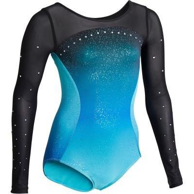 Gymnastický dres - Domyos Gymnastický Dres 900 Tyrkysový