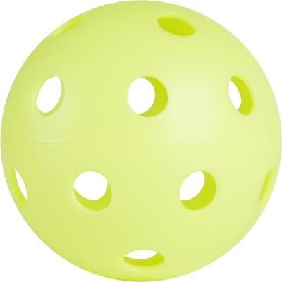 Žlutý florbalový míček 100, OROKS