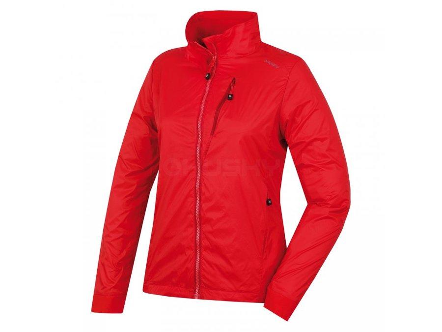 Červená dámská bunda Husky