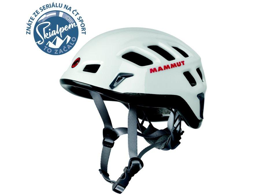 Horolezecká helma MAMMUT - velikost 52-57 cm