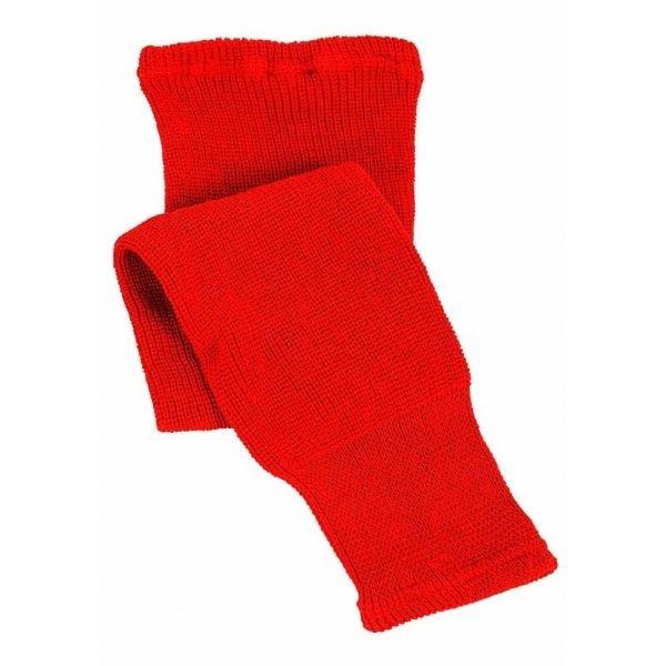 Hokejové štulpny - CCM 100 KNIT SOCK IN 24 červená NS - Dětské hokejové pletené stulpny