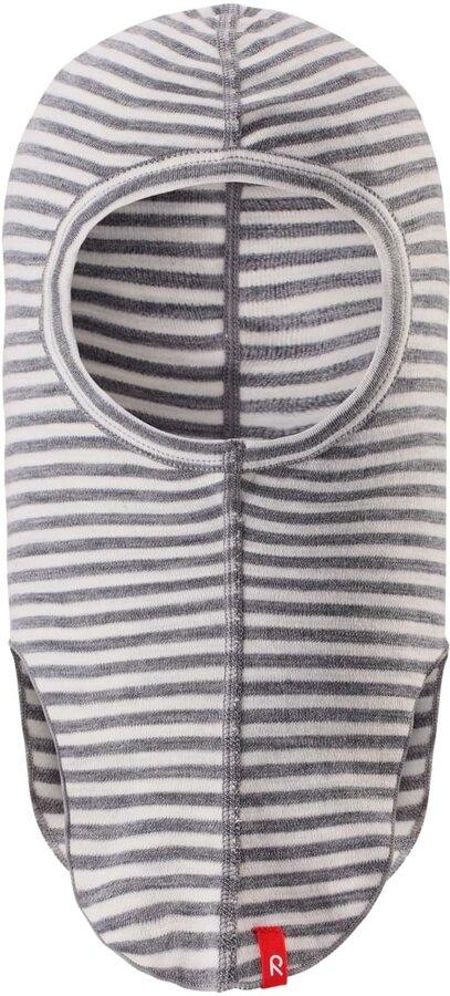 Lyžařská kukla - Reima AURORA KUKLA - melange grey stripes Varianta: 54-56 cm
