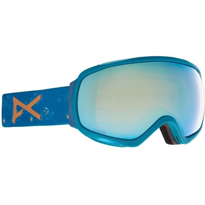 Modré brýle na snowboard Anon