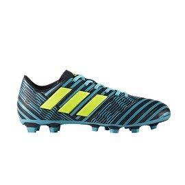 Modré kopačky lisovky NEMEZIZ 17.4 FxG, Adidas - velikost 42 2/3 EU