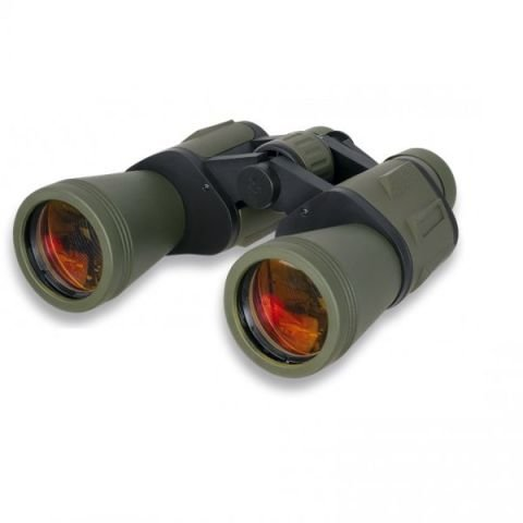 Černo-zelený dalekohled Albainox
