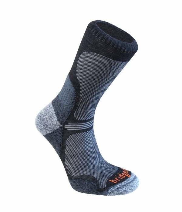 Modré pánské trekové ponožky Bridgedale