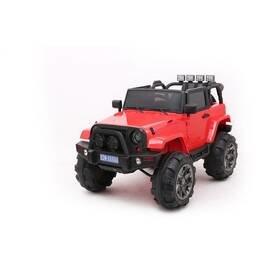 Červené dětské elektrické autíčko Jeep, Made