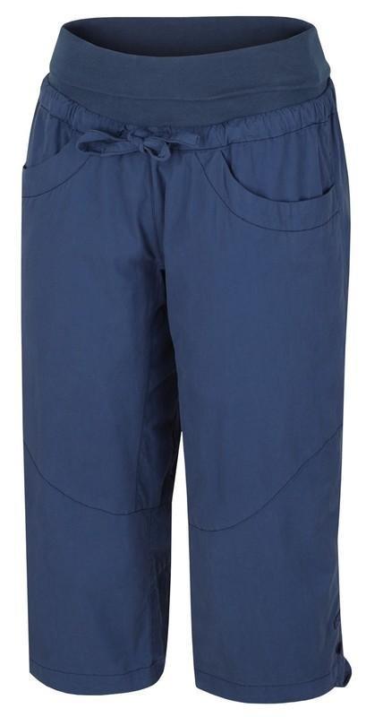 Modré dámské kraťasy Hannah - velikost 34