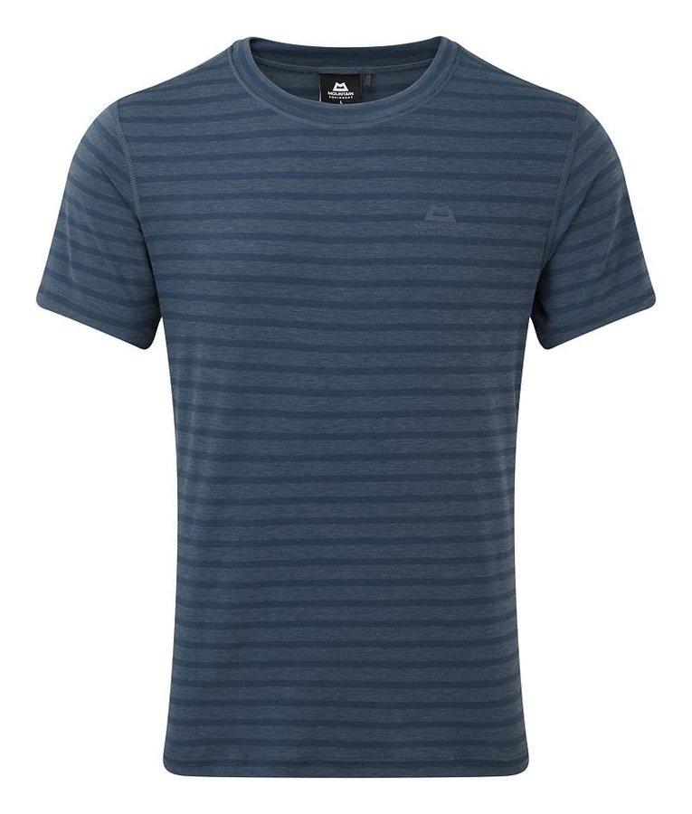 Modré pánské turistické tričko s krátkým rukávem Mountain Equipment
