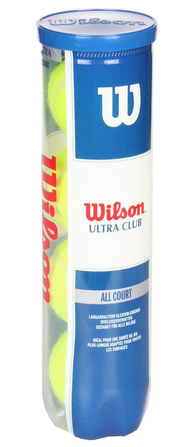 Tenisový míček Ultra Club, Wilson - 4 ks