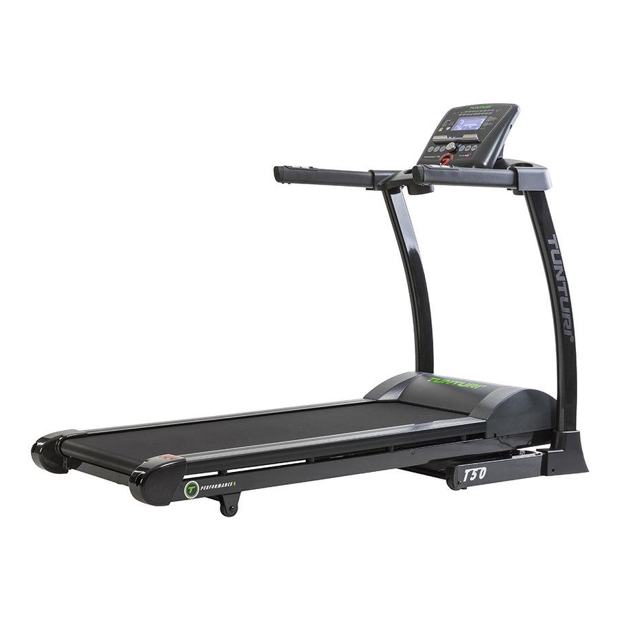 Běžecký pás Treadmill Performance, Tunturi - nosnost 135 kg