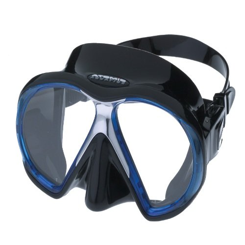 Černo-modrá potápěčská maska Subframe, Atomic Aquatics