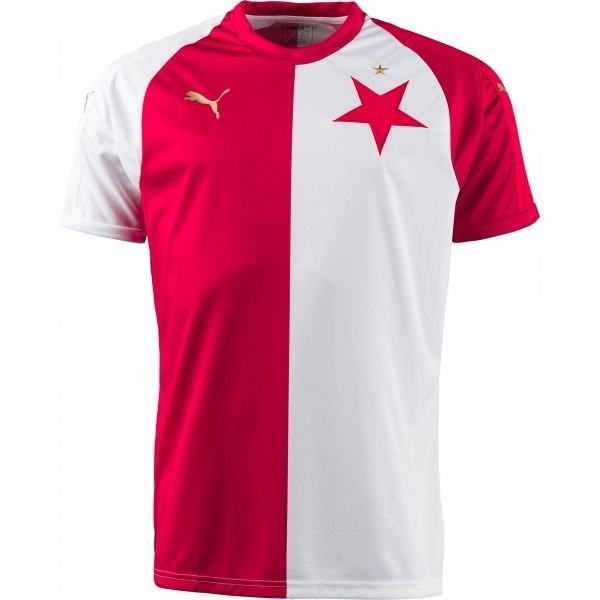 Bílo-červený fotbalový dres Puma