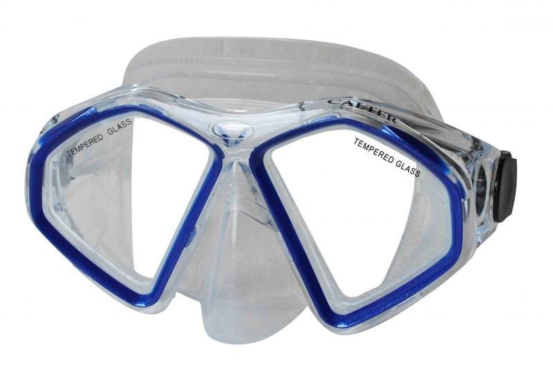 Potápěčská maska - Potápěčská maska CALTER SENIOR 283S, modrá