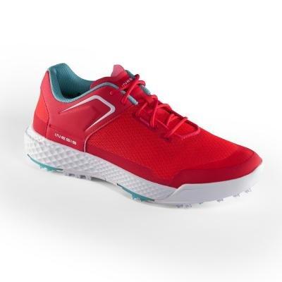 Červené dámské golfové boty Grip Dry, Inesis - velikost 37 EU
