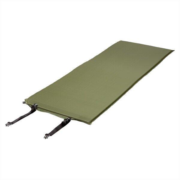 Zelená samonafukovací karimatka NILS CAMP - tloušťka 2,5 cm