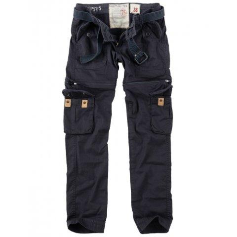 Kalhoty - Kalhoty dámské TREKKING PREMIUM ČERNÉ