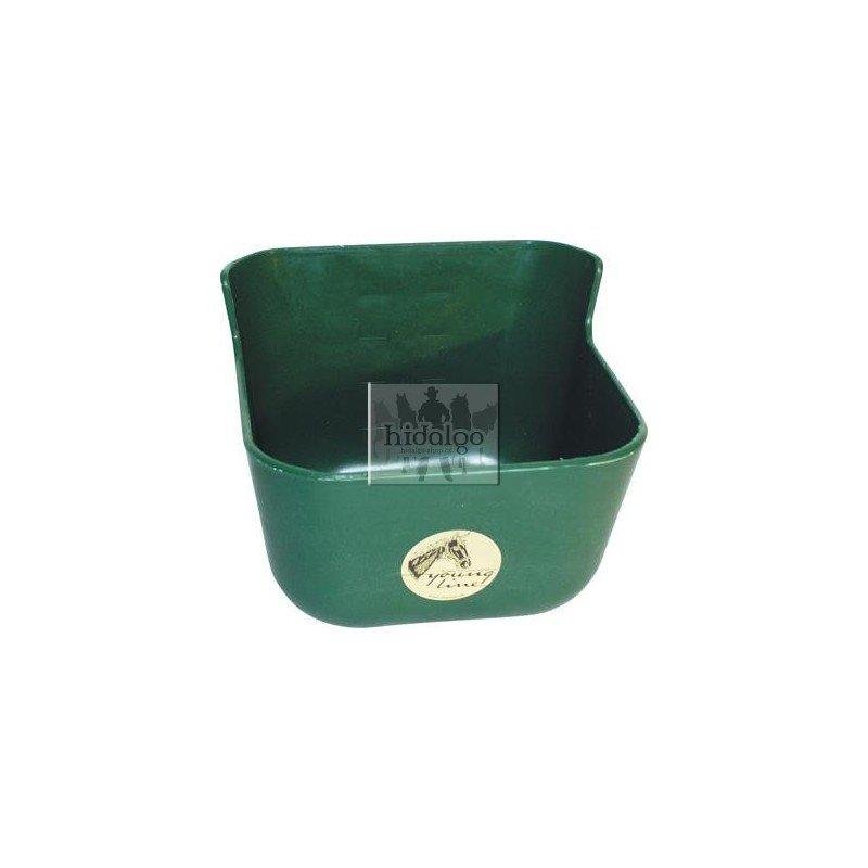 Zelený plastový žlab - objem 7 l