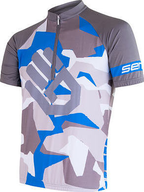 Modrý pánský cyklistický dres Sensor - velikost S